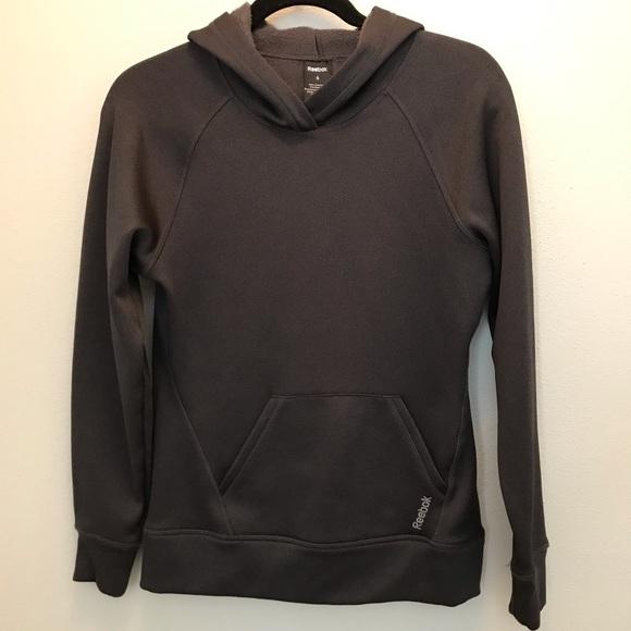 Reebok Sweaters - Gray Reebok Hoodie